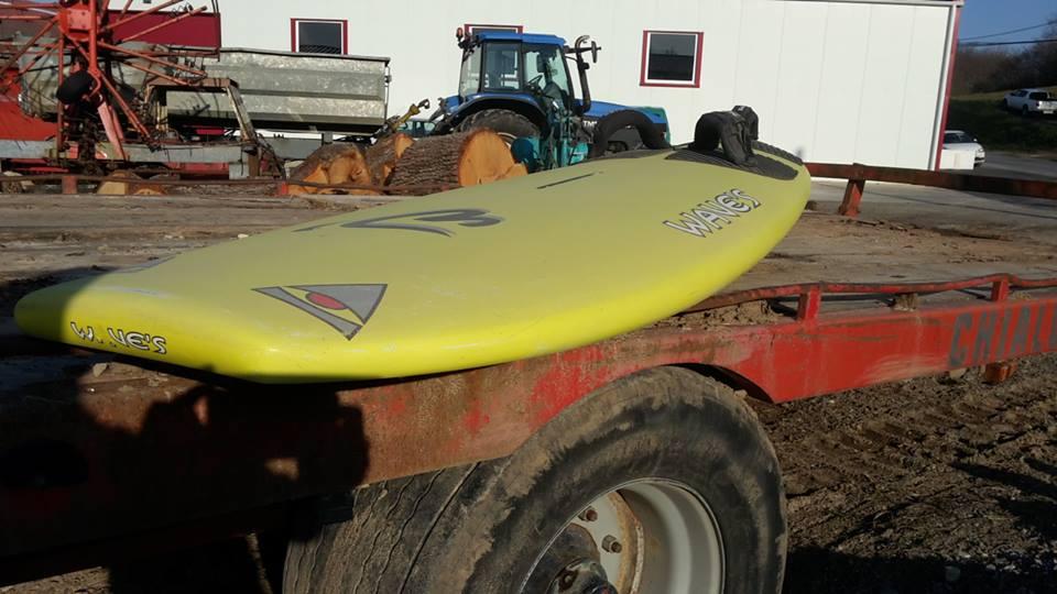 """Le fameux Squale, bien avant les shapes inspirés des surfs """"Tomo"""" qui font fureur sur les spots depuis moins de deux ans"""